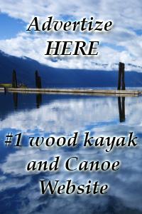 Wood Kayak for sale