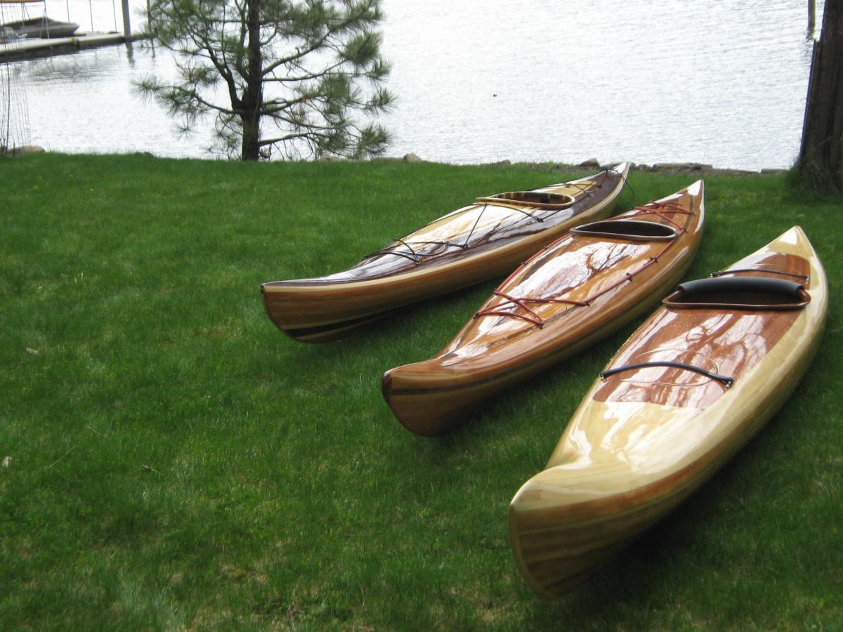 Cedar Strip Kayaks