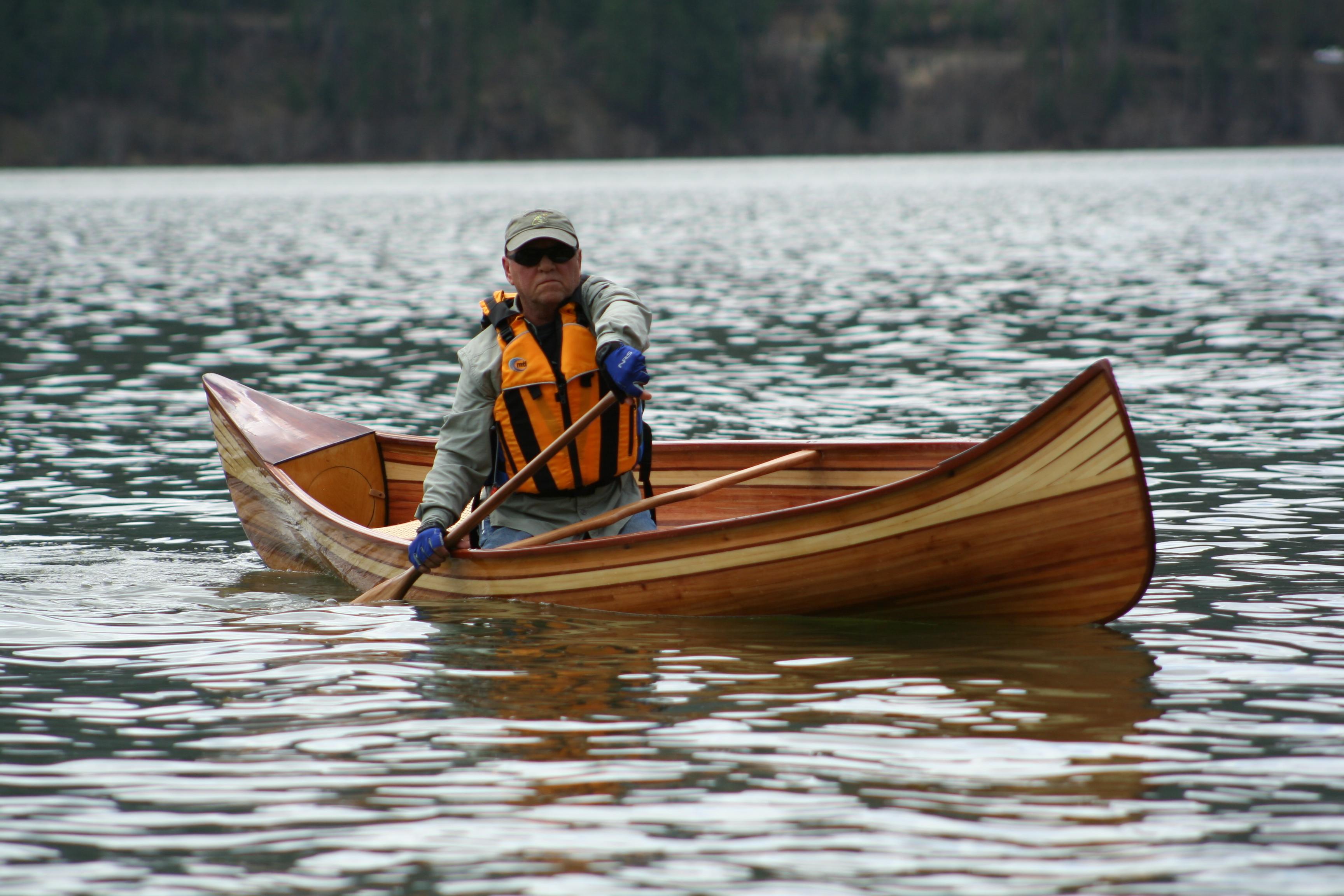 Wood Strip Gallery | Heirloom Paddle Sports Canoe