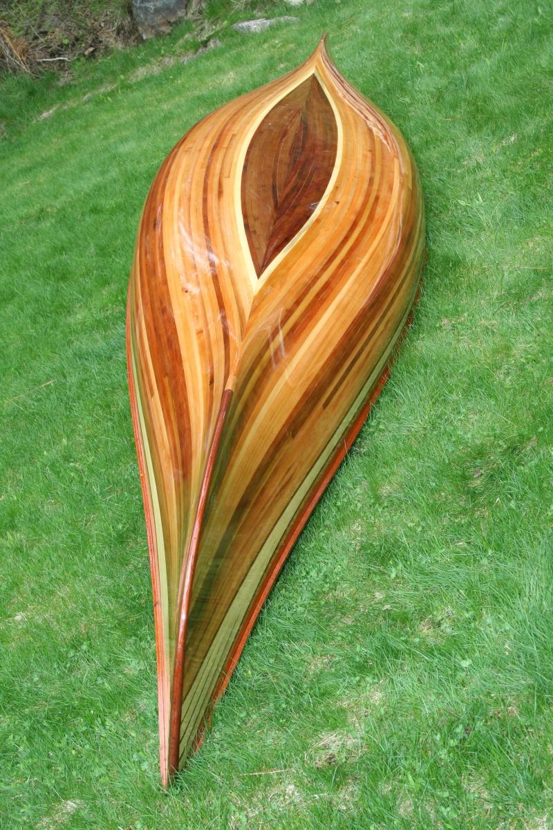 Heirloom Kayak & Canoe wood strip boat