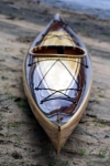 Heirloom Kayak & Canoe wood strip boat, American made in Idaho