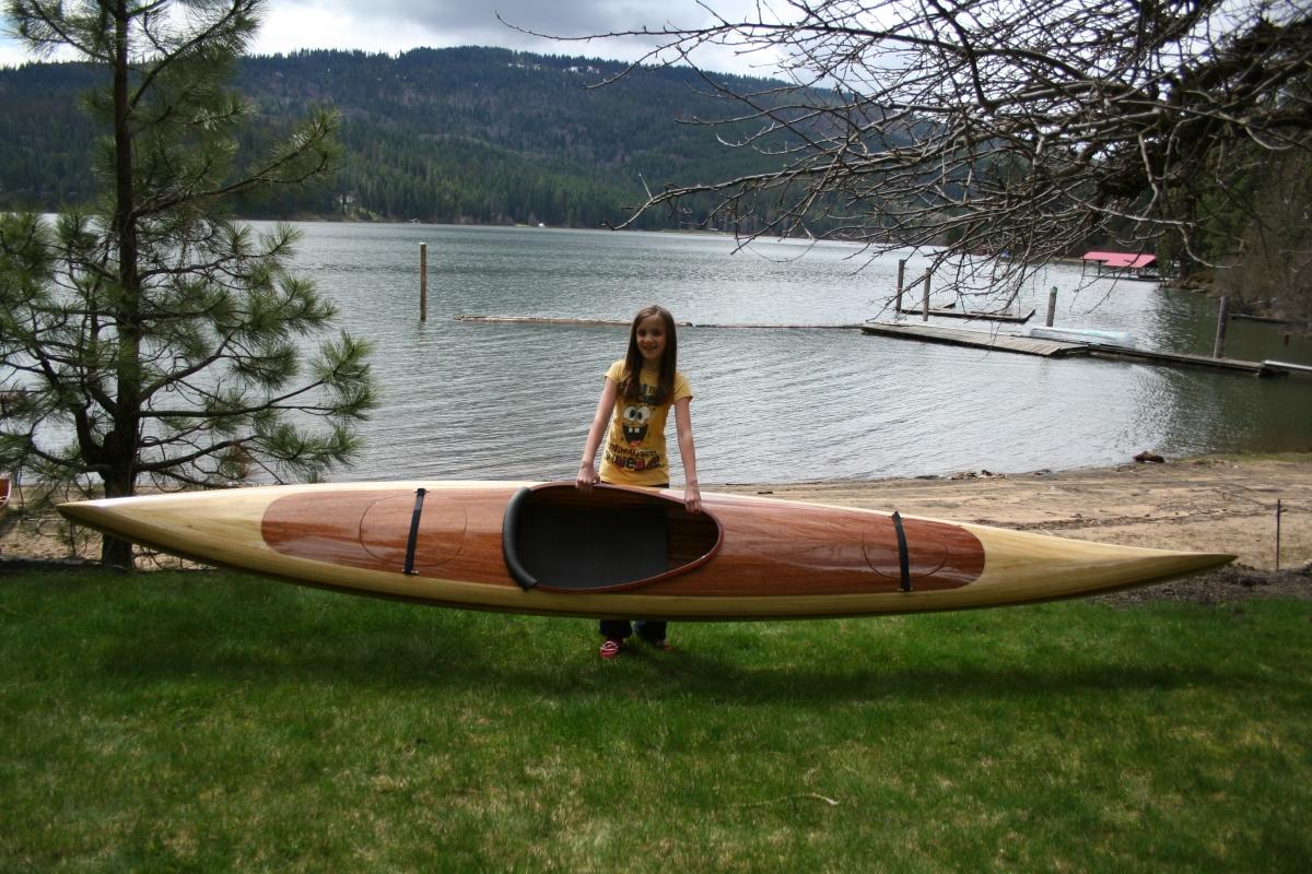 Heirloom Kayak & Canoe light weight wood strip