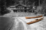 Wood strip kayaks by Heirloom Kayak