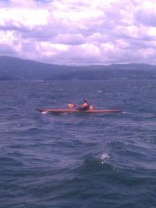 Wood strip kayak canoe wood building