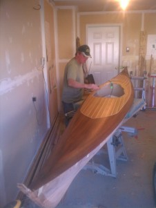 cedar strip kayak, cedar strip kayaks for sale, boat overlays, strip kayaks sale, cedar strip sup