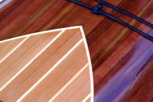 cedar strip Kayak, cedar strip building, cedar artwork, kayak as art work