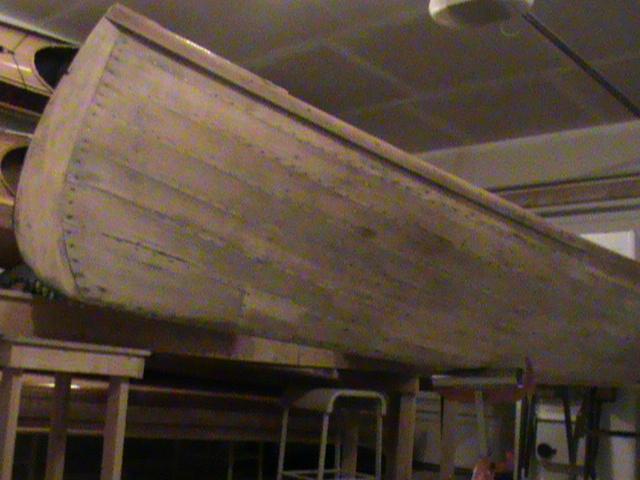 Stripped Adirondack Hull
