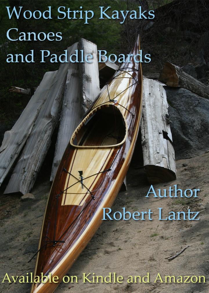 cedar strip kayak, wood strip kayak