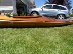 Wood strip kayak, wood strip canoe, cedar strip kayak, cedar strip canoe, cedar strip kayak for sale, cedar strip canoe for sale
