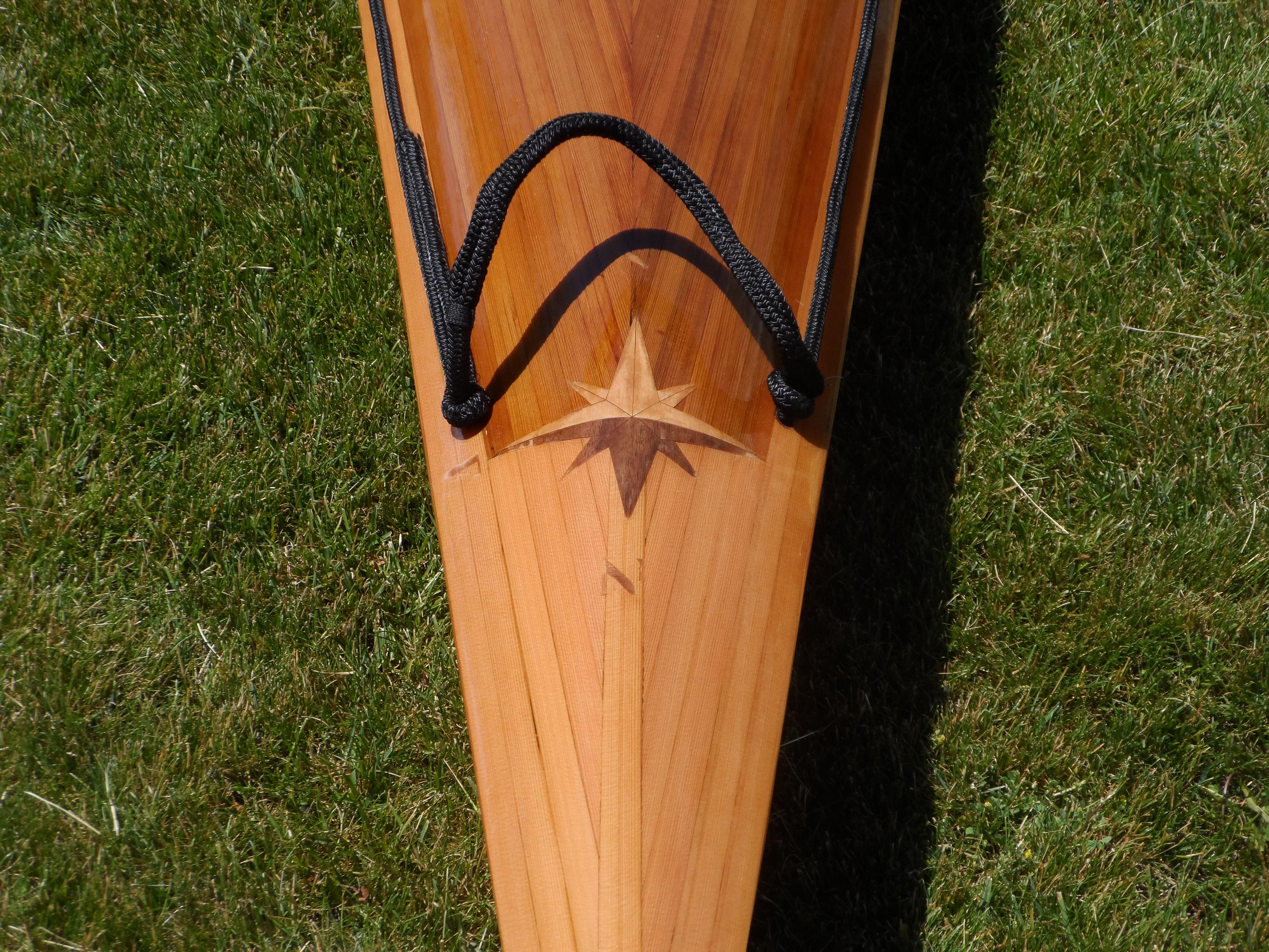 The Wood Strip Chocolate Heirloom Paddle Sports