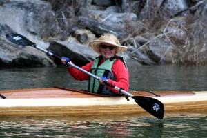 kayak sandpoint, kayak coeur d'Alene, wood strip kayak